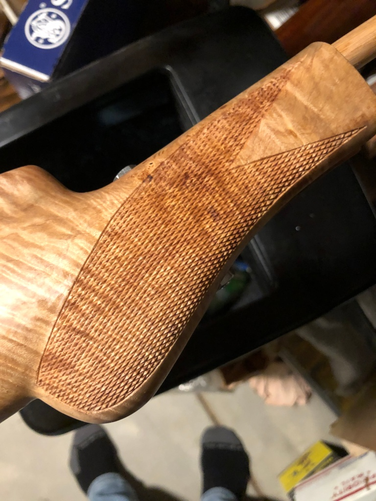 Browning Auto 5 with custom Maple