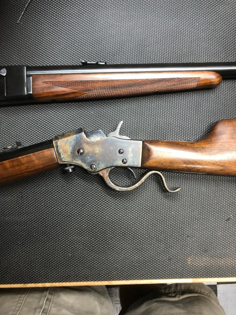 Steven Favorite 1915 and Remington 16