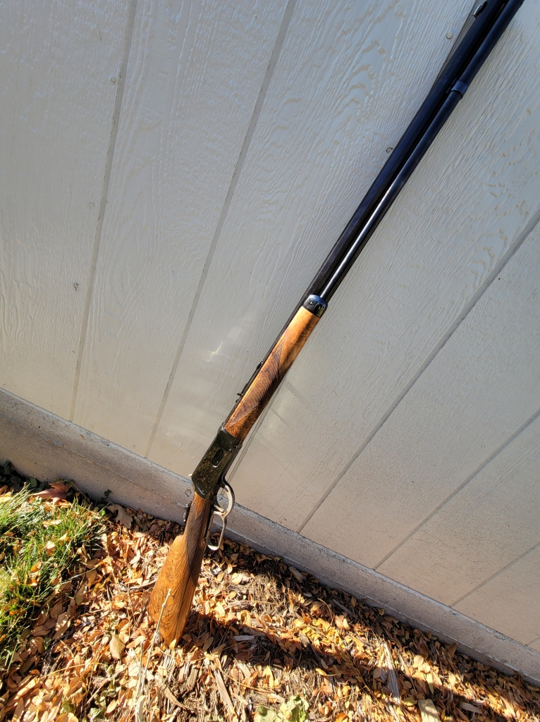 Winchester 1894 restored to Deluxe version